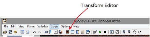 Transform Editor
