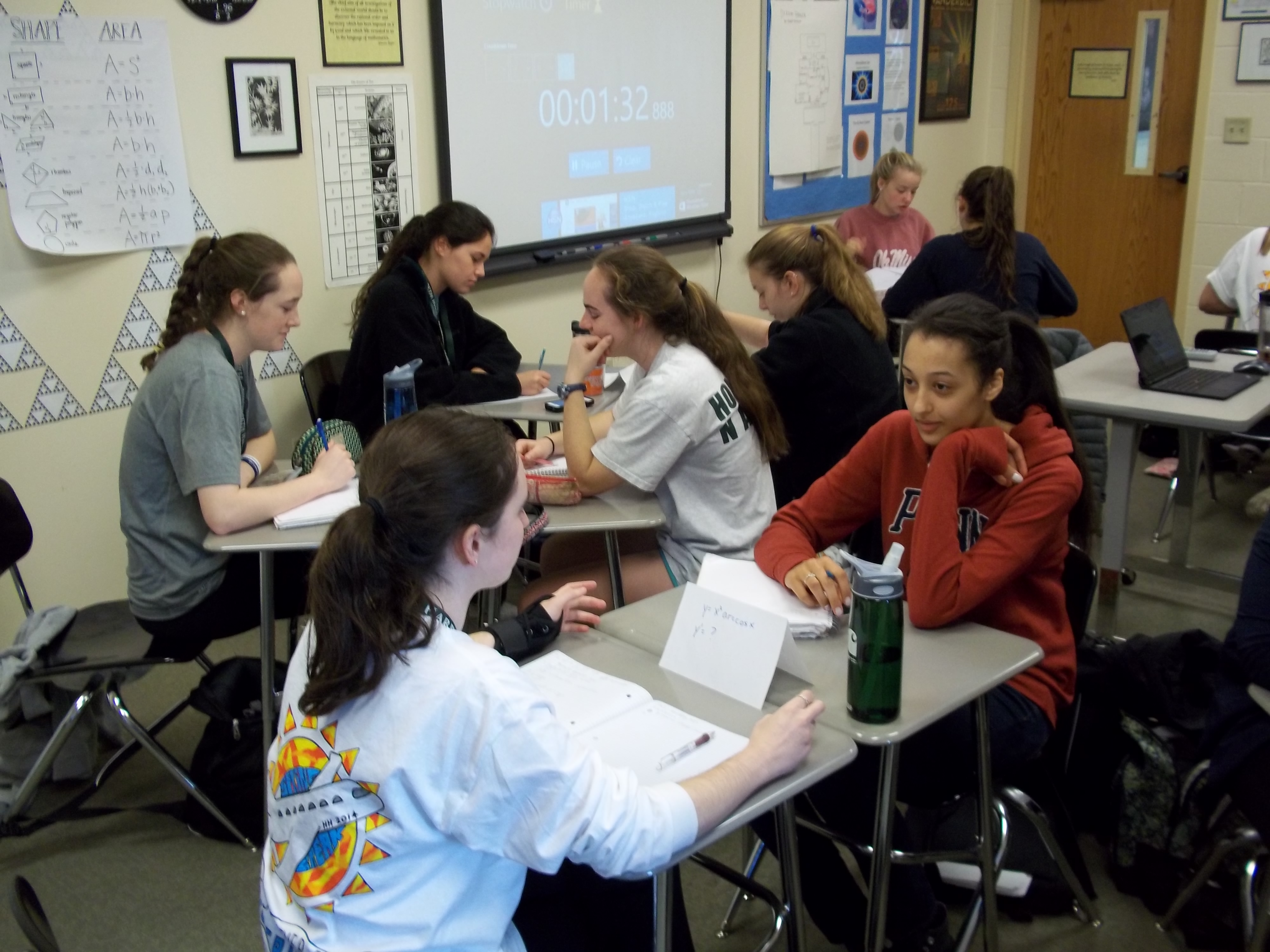 Speed dating activities in the classroom