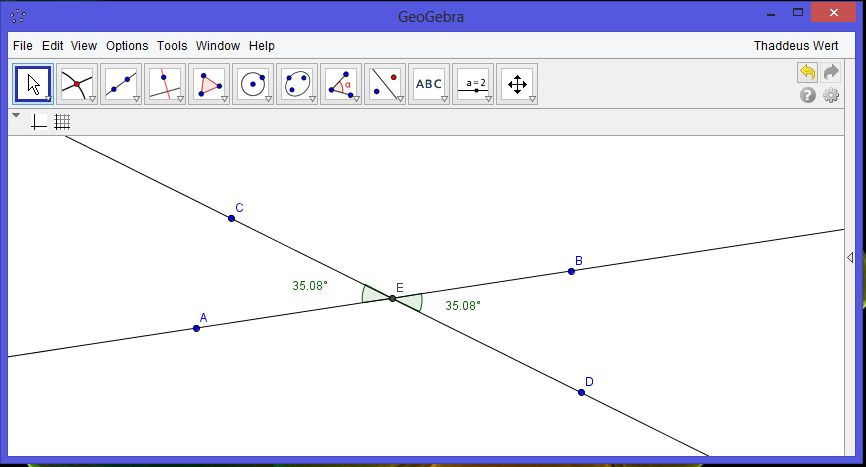 Geometry Proofs Vertical Angles Are Congruent
