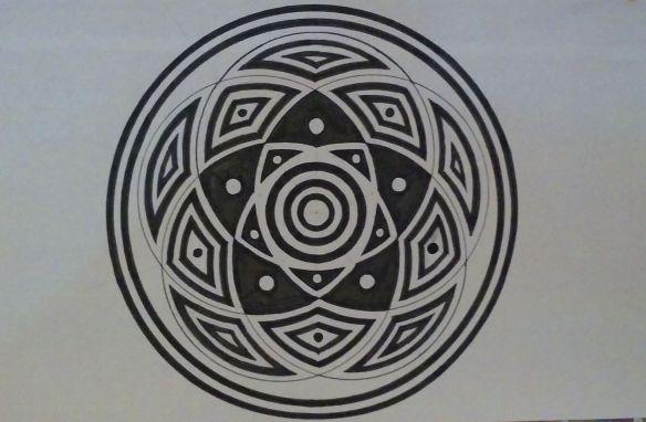 5 Circle Mandala
