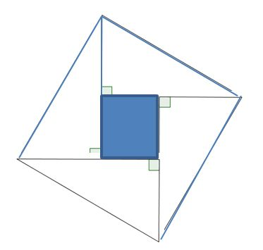 Pythagorean Proof Square
