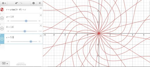 desmos tangent window